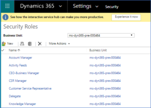 Dyn365Pros Microsoft Dynamics 365 Partner Microsoft Dynamics 365 Security Roles