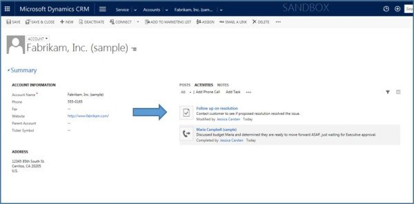 Microsoft Dynamics CRM - Using Activities vs  Notes - Best