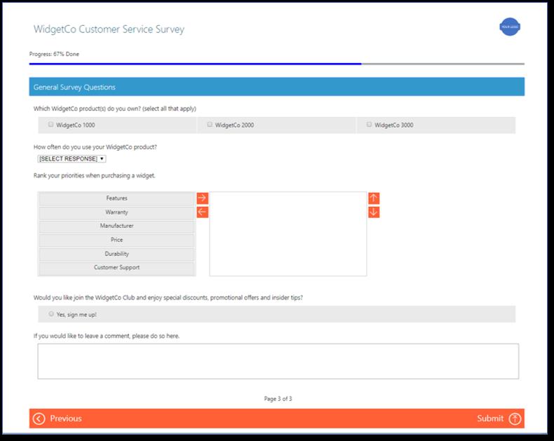 Dynamics 365 Voice of the Customer Surveys