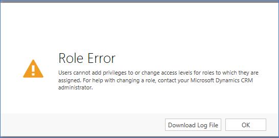 Microsoft Dynamics CRM Online Error