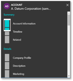 Microsoft Dynamics 365 Unified Interface