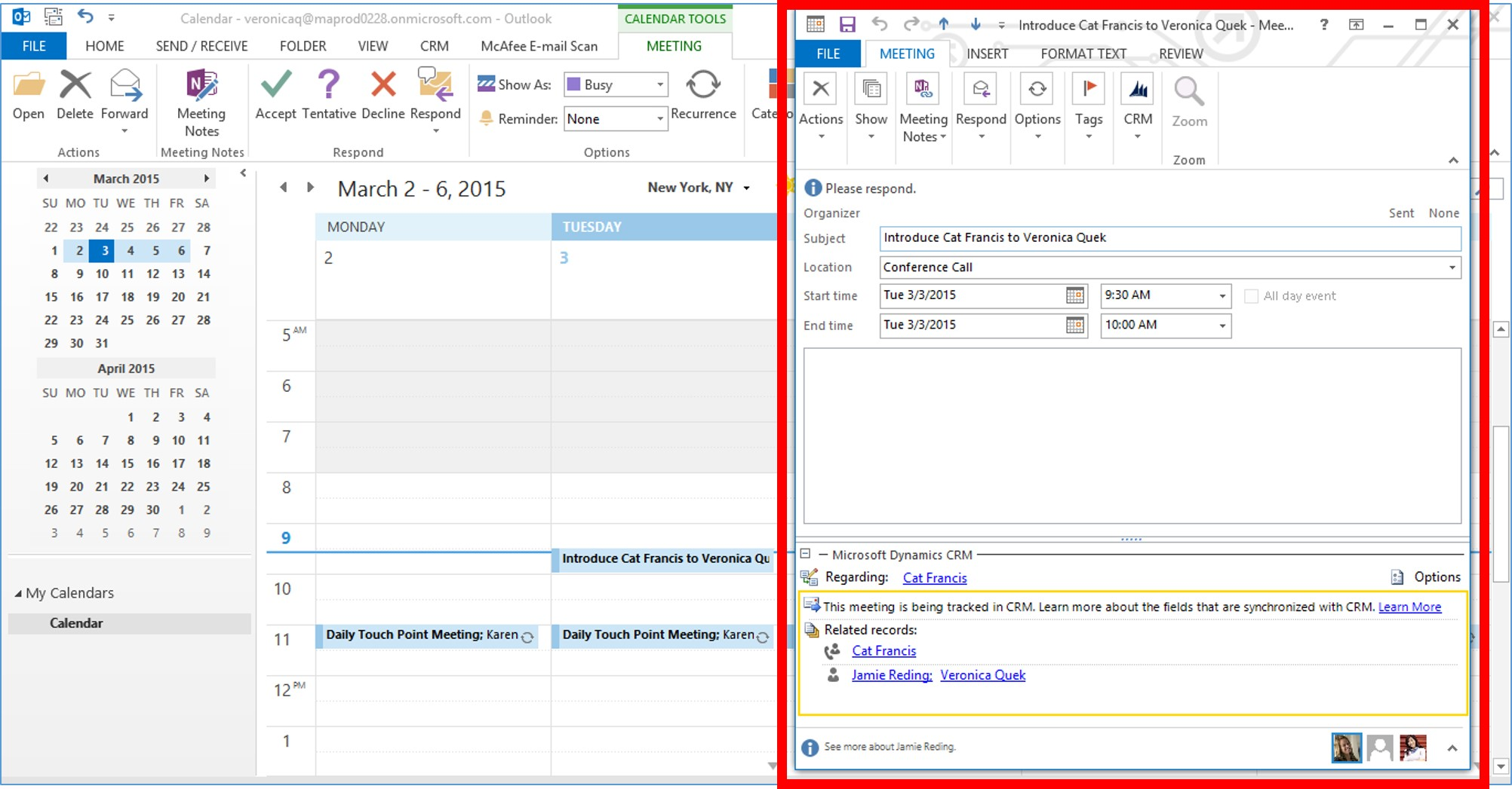 Microsoft Dynamics CRM 2015 Activity Records part 2 image6