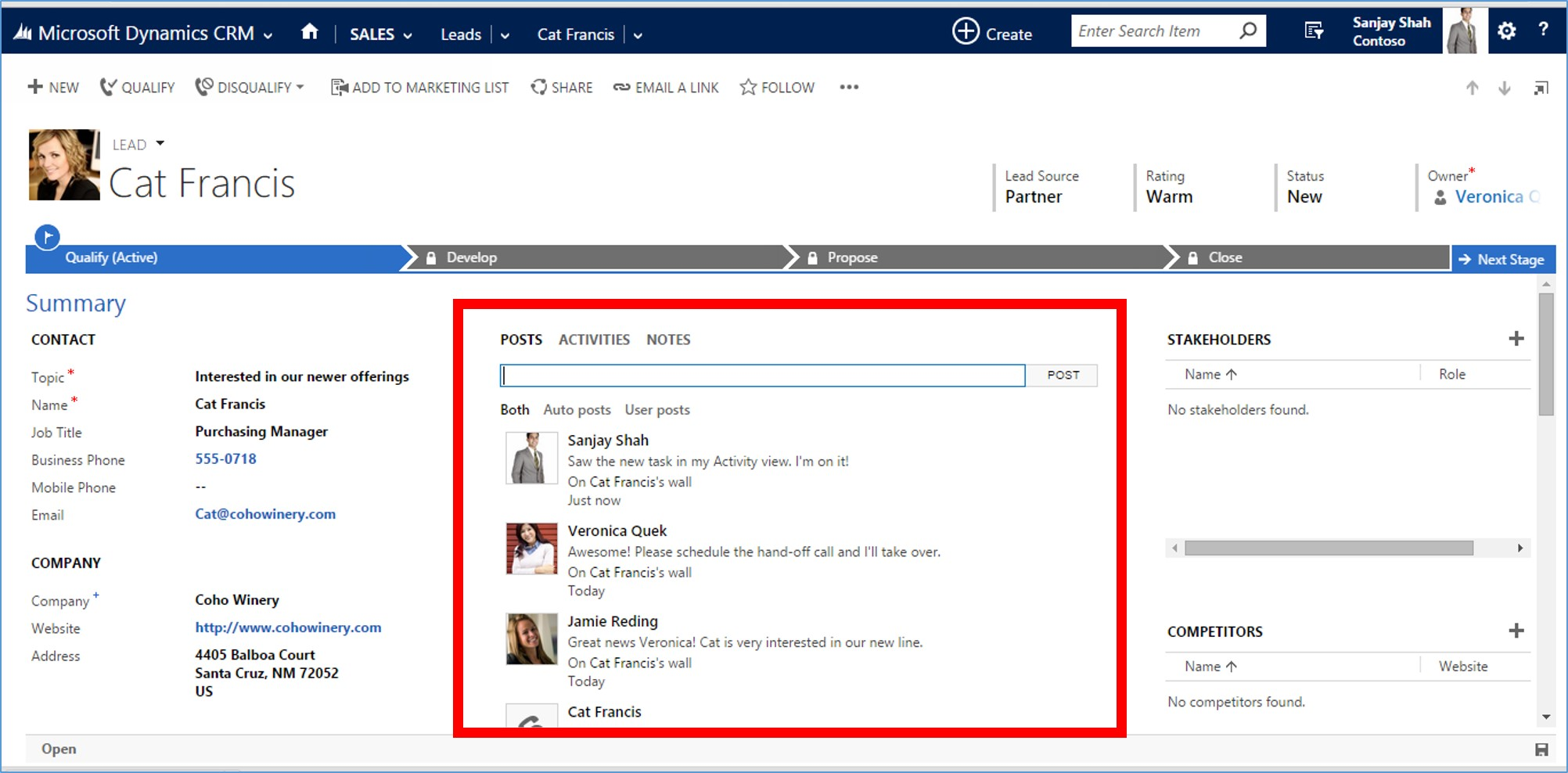 Microsoft Dynamics CRM 2015 Activity Records part 2 image9