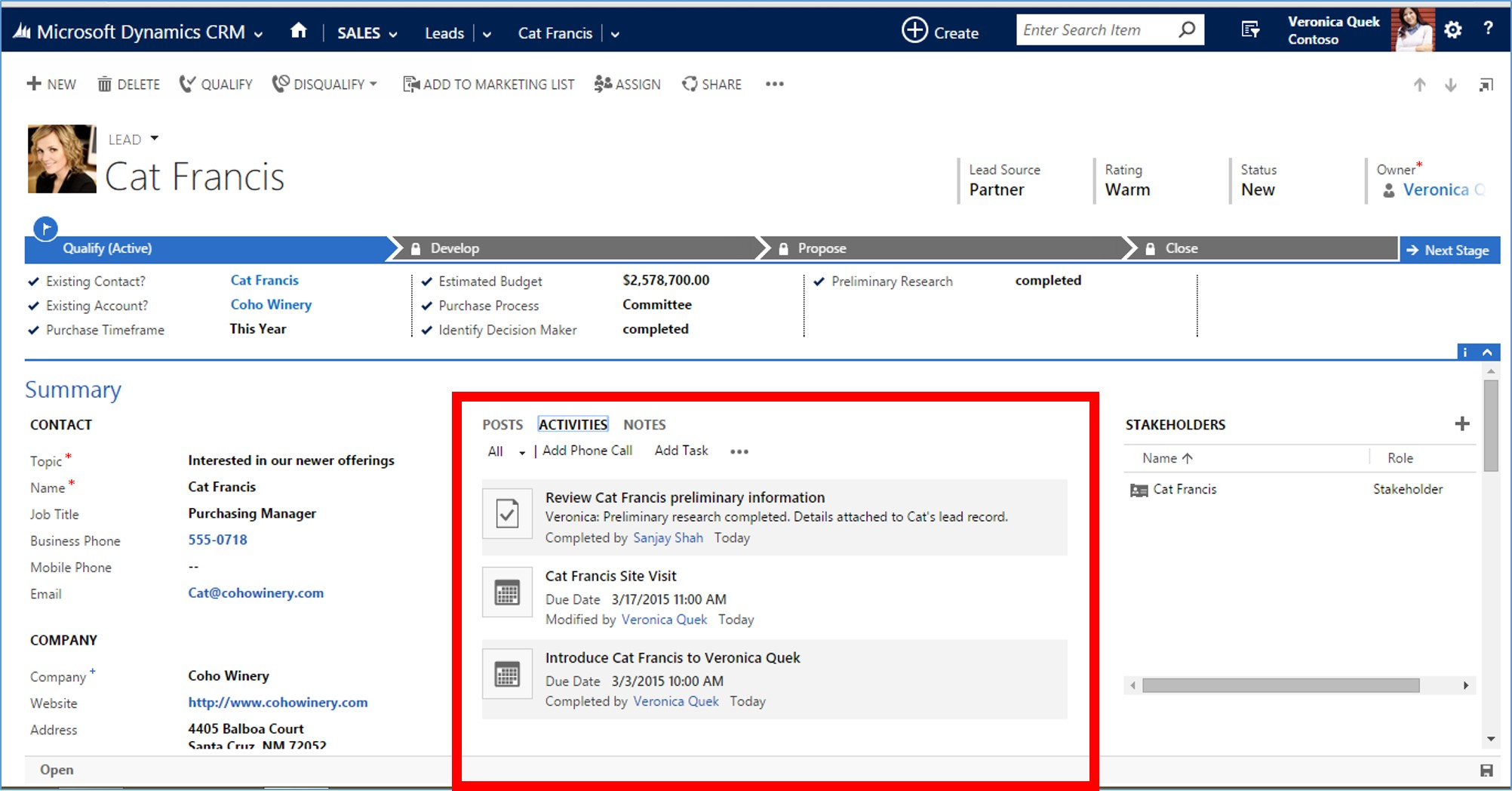Microsoft Dynamics CRM Basics for Sales Professionals - 4 Tips for Sales Managers 2
