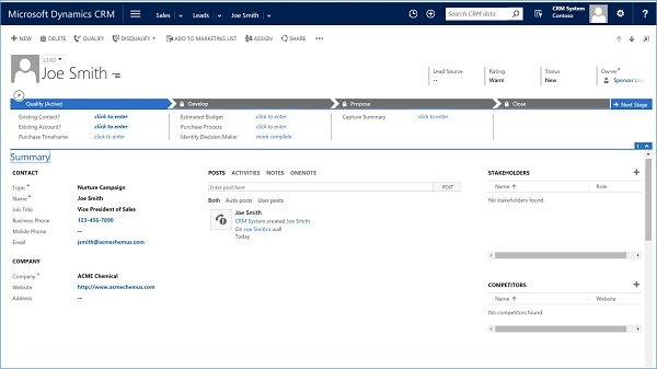 Microsoft Dynamics CRM Basics for Sales Professionals - Importing Leads and Contacts 13