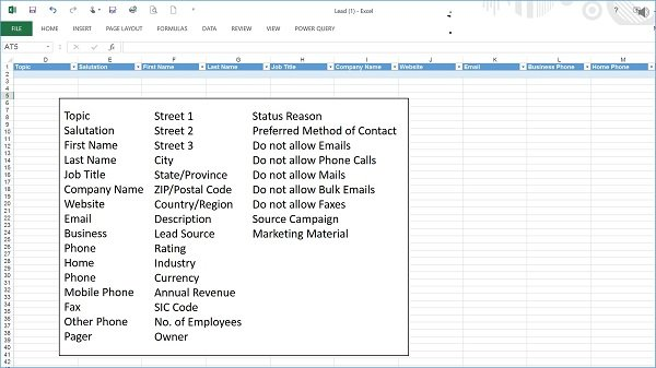 Microsoft Dynamics CRM Basics for Sales Professionals - Importing Leads and Contacts 3