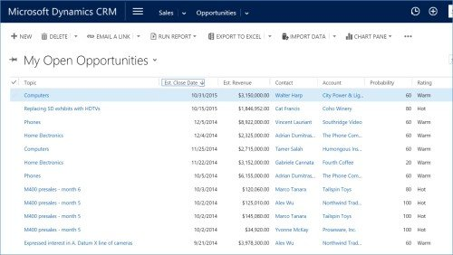 Microsoft Dynamics CRM Online Office 365 6