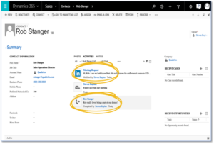Microsoft Dynamics 365 Microsoft Relationship Sales Solution