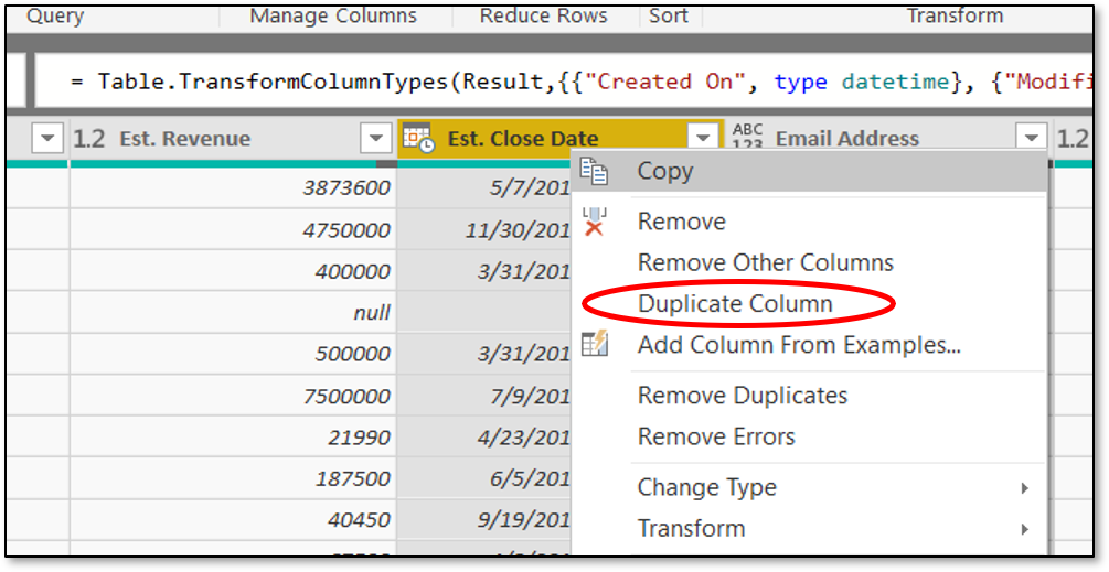 Dynamics 365 with Power BI: Transforming Dates in Your Sales